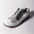 G/FORE LADIES' GOLF SHOES  WINGTIP SILVER