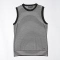 G/FORE Women's Stripe Sweater Vest Onyx