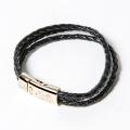 GILLES & LOEWS Bracelet Marseille Black