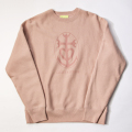 GILLES & LOEWS Sweat Crew Mauve Pink GILLES & LOEWS