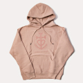 GILLES & LOEWS Sweat Hoodie Mauve Pink GILLES & LOEWS
