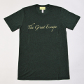 GILLES & LOEWS T-shirt Dark Green The Great Escape