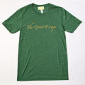 GILLES & LOEWS T-shirt Green The Great Escape