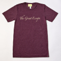 GILLES & LOEWS T-shirt Maroon The Great Escape