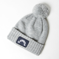 JONES Patch Beanie Light Grey