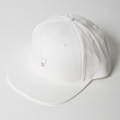 JONES FLAT CAP Birdie Patch White