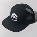 JONES CAP BLACK WAPPEN MESH