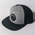 JONES CAP BLACK GREY WAPPEN