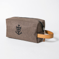 JONES CO-PILOT Dopp Kit Heather Brown