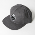JONES FLAT CAP Circle Patch Charcoal