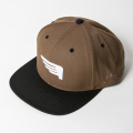 JONES FLAT CAP Co-Pilot Brown & Black