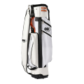 JONES STAND BAG NYLON & PVC White NO.1 GRIP