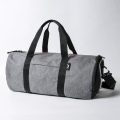 JONES Varsity Duffle Charcoal/Black