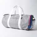 JONES Varsity Duffle Gray/Royal/Pink
