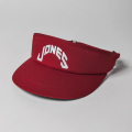 JONES VISOR RED
