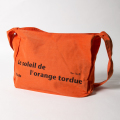 KNEE DEEP Beach Bag Orange