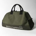 KNEE DEEP BOSTON BAG L Black x Olive