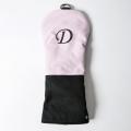 Knee Deep Driver Cover D Cotton Canvas Pink x Black x Grey