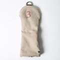 Knee Deep Fairway Wood Cover 3 Cotton Canvas Beige