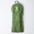 Knee Deep Fairway Wood Cover 3 Cotton Canvas Green