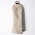 Knee Deep Fairway Wood Cover 5 Cotton Canvas Beige
