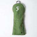Knee Deep Fairway Wood Cover 5 Cotton Canvas Green