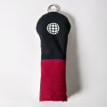 Knee Deep Fairway Wood Cover Ball Cotton Canvas Navy x Red x White