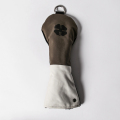 Knee Deep Fairway Wood Cover Clover Cotton Canvas Khaki x Ivory x Black