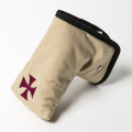 Knee Deep Putter Cover Cotton Canvas Beige