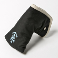 Knee Deep Putter Cover Cotton Canvas Marseille Black