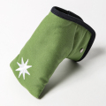 Knee Deep Putter Cover Cotton Canvas Green