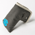 Knee Deep Putter Cover Cotton Canvas Grey