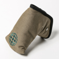 Knee Deep Putter Cover Cotton Canvas Khaki