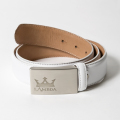 LAMBDA MEN'S Belt White