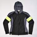 Monreal Rash Guard Hoodie Black / Yellow