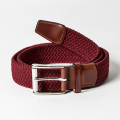 ROYAL ALBARTROSS MEN'S Belt THE BALZO Claret Red