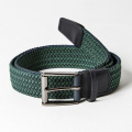 ROYAL ALBARTROSS MEN'S Belt THE BALZO Green / Navy