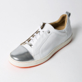 ROYAL ALBARTROSS LADIES' Golf Shoes THE LUNA White & Silver