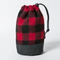 SEAMUS  Drawstring Bag Buffalo Check