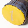 SEAMUS Driver Cover 1 County Sligo Yellow Leather