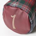 SEAMUS Driver Cover 1 County Louth Red Leather