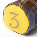 SEAMUS Fairway Wood Cover 3 County Sligo Yellow Leather
