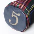 SEAMUS Firway Wood Cover 3 Black Stewart Navy Leather