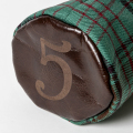 SEAMUS Fairway Wood Cover 5 County Dublin Chocolate Leather
