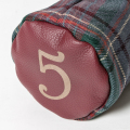 SEAMUS Fairway Wood Cover 5 County Louth Red Leather