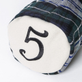 SEAMUS Fairway Wood Cover 5 Forbes Ivory Melton