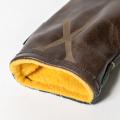 SEAMUS Hybrid Cover X Stewart Blue Dress Chocolate Leather