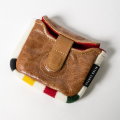 SEAMUS Mallet Putter Cover Leather & Glacier National Park