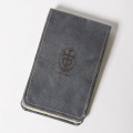 SEAMUS Yardage Book GILLES & LOEWS Charcoal Oregon Leather