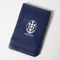 SEAMUS Yardage Book GILLES & LOEWS Navy Lambskin Leather